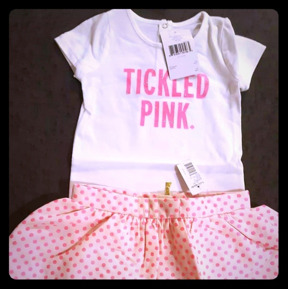 kate spade Other - Kate Spade Skirt&Shirt Toddlers size 18